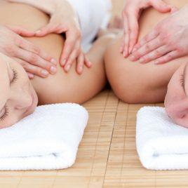 Bon cadeau Massage bien-être + gommage + enveloppement